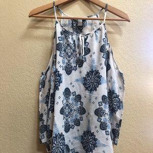 Forever 21 Patterned Boho Dress